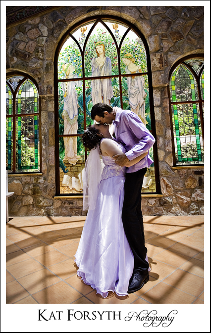 Shepstone Gardens Chapel wedding
