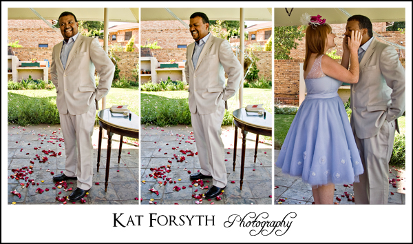 First Look wedding photography johannesburg