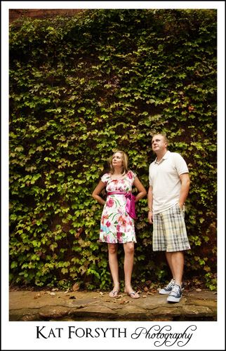 Engagement shoot Country Club