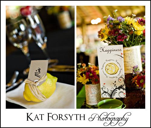Wedding decor Leopard Lodge