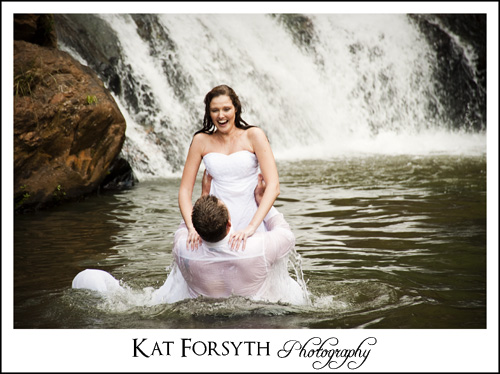 Kat Forsyth trash the dress photography
