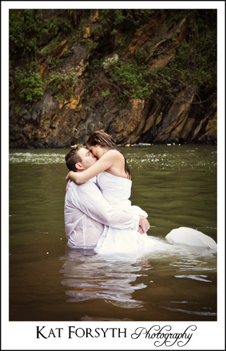 Johannesburg Trash the Dress water photographer