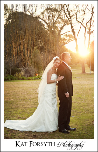 Wedding Johannesburg Country Club Auckland Park sunset