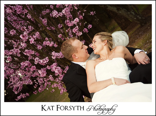 Wedding photographers blossoms Johannesburg