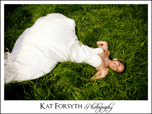 Trash the Dress Irene Dairy Farm
