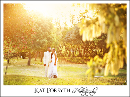 Sunset Johannesburg wedding photographer