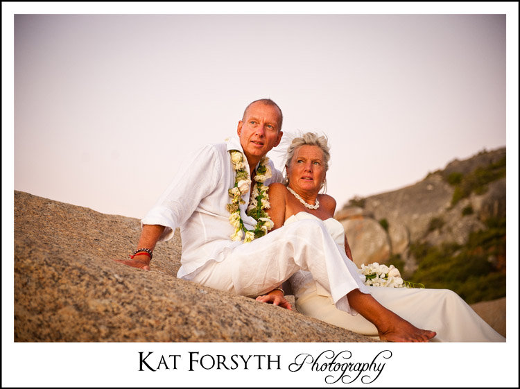 Beach wedding photos western cape
