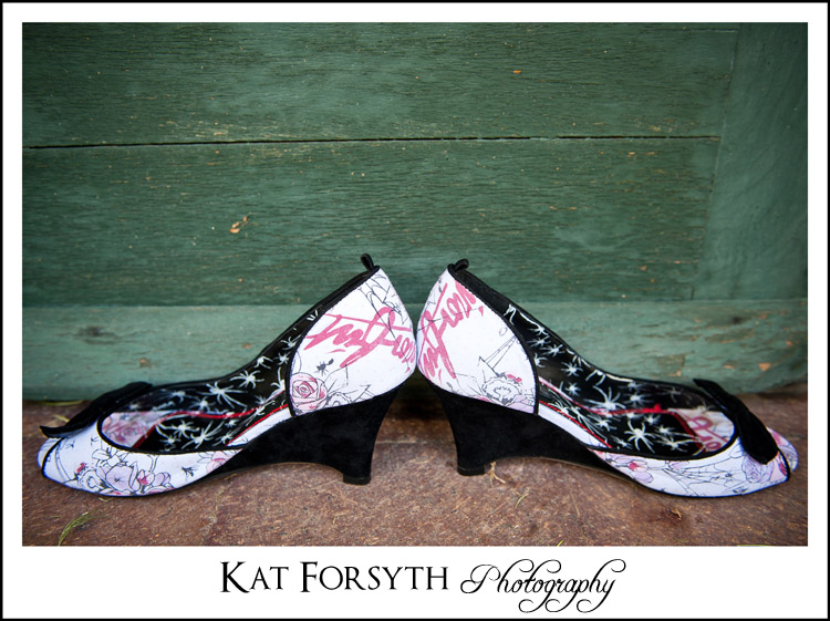 Iron Fist Wedding shoes