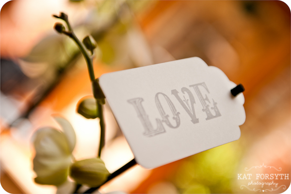 Love tag wedding