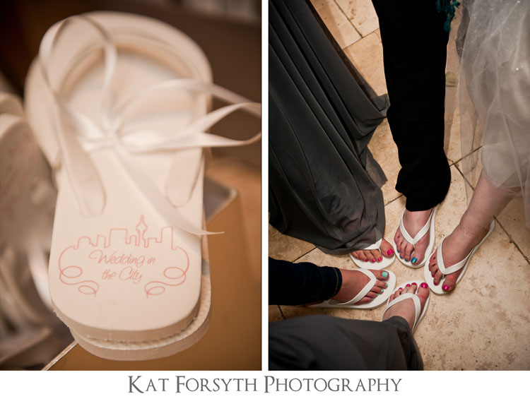 wedding flipflops City wedding