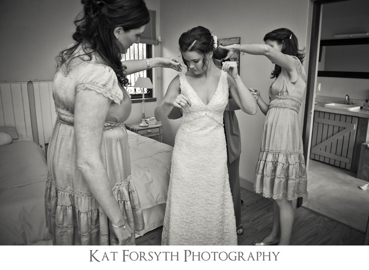 Creative fun wedding photographers