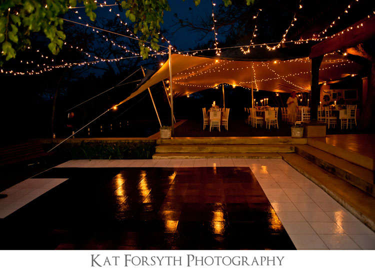 outside wedding reception dancefloor UK