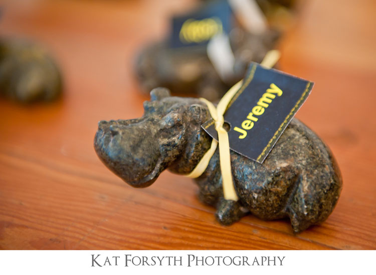 wedding favours favors hippo ornaments
