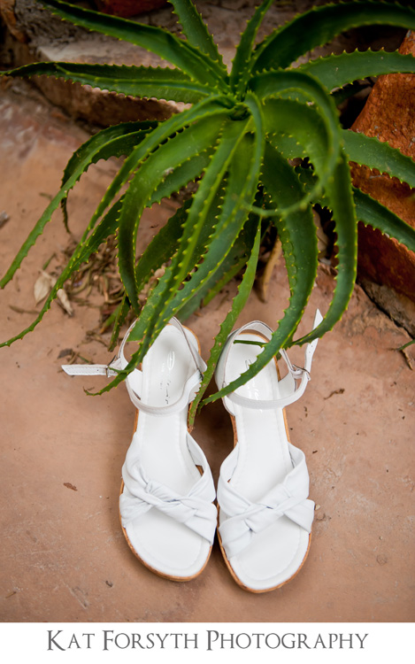 bride shoes creative cactus