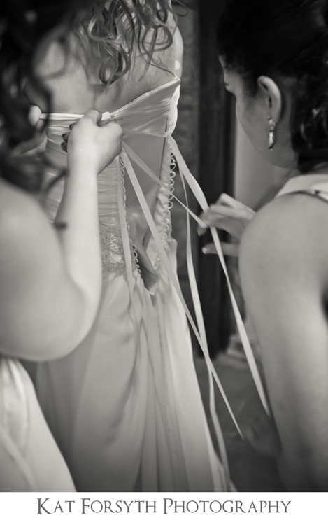 lacing up wedding dress gown