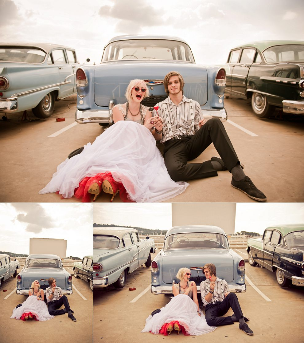 rock n roll wedding photographer