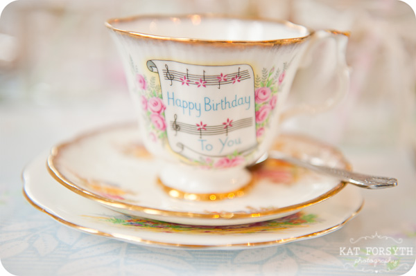 vintage teacup wedding