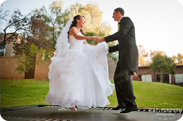 Wedding Trampoline