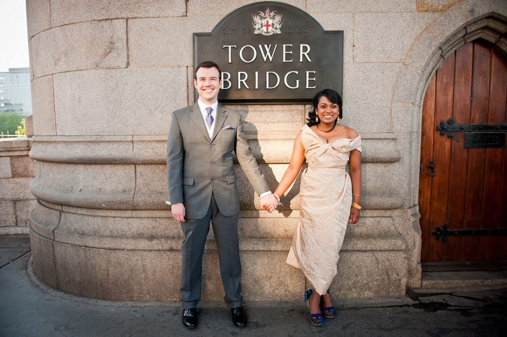 Tower Bridge Wedding Photographer