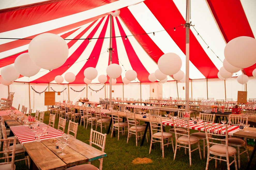 Carnival Wedding tent