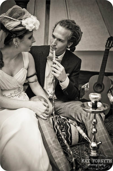 Alternative Offbeat quirky London wedding photographer (45)