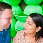 Colourful couple shoot at South Bank {Amrit & John}