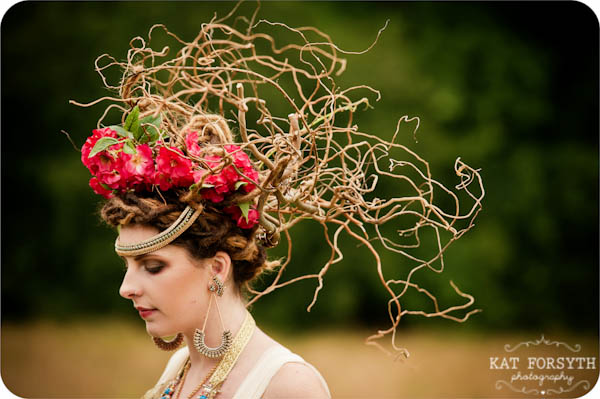 Hippy Luxe twig crown