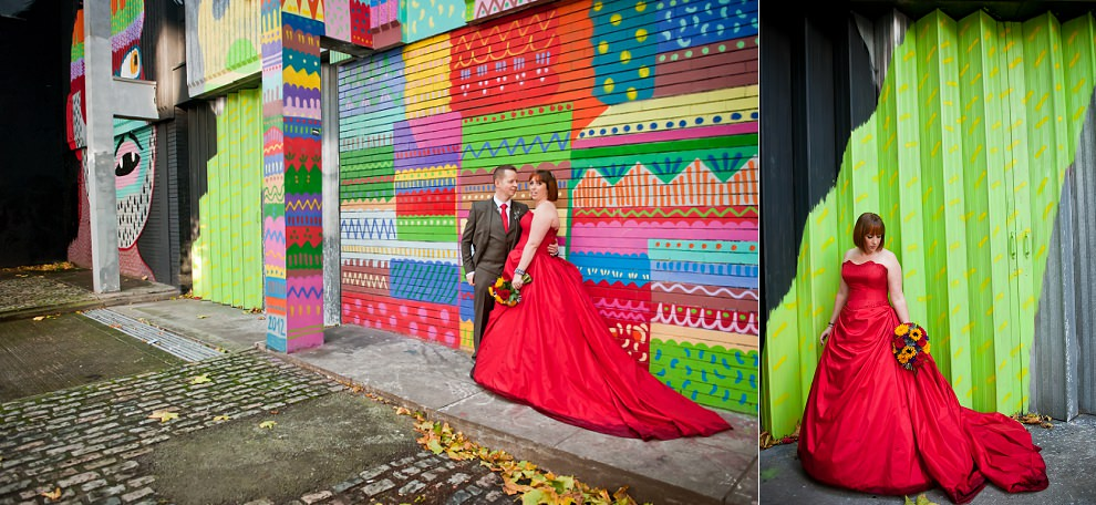 Bristol graffiti wedding