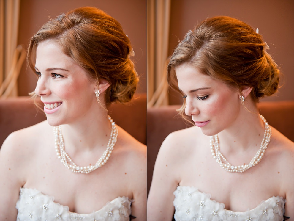 Bridal portraits Islington