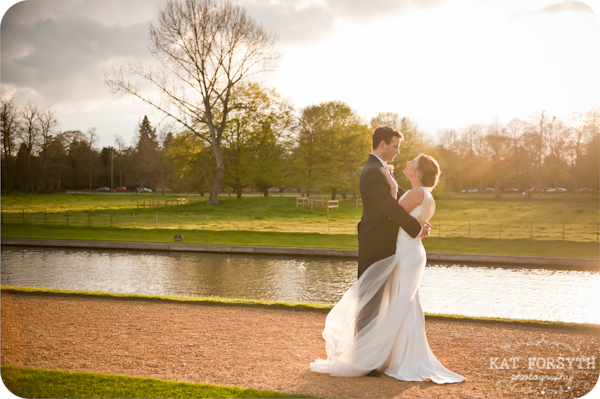 Sunny Cambridge wedding romantic