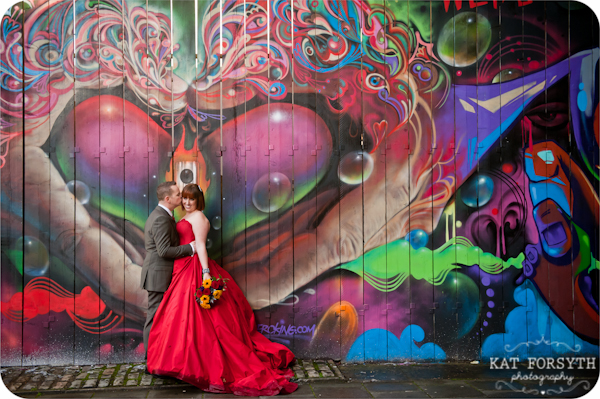 Graffiti Bristol Wedding