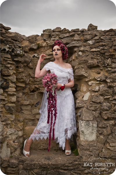 Alternative wedding gothic victorian vintage wedding (24)
