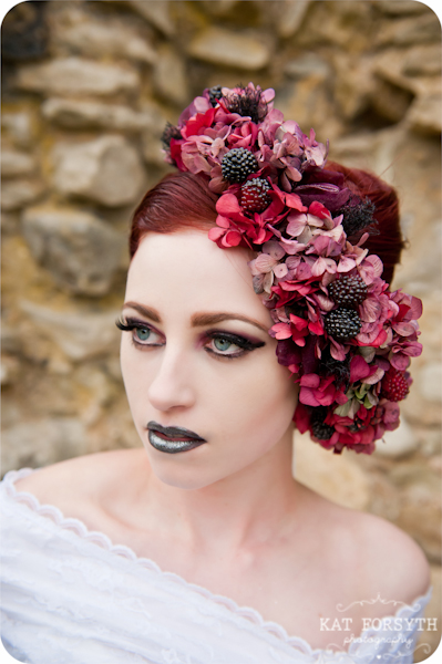 Alternative wedding gothic victorian vintage wedding (25)