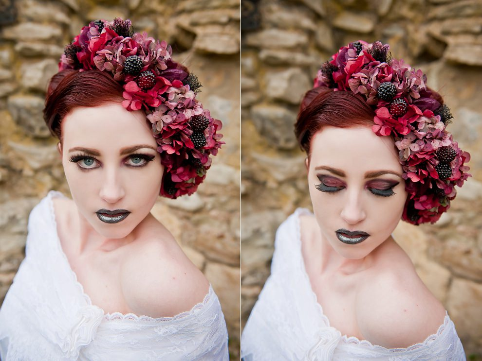 red berry headpieces