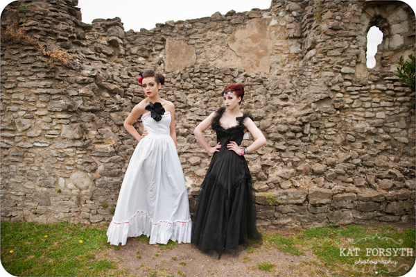 Alternative wedding gothic victorian vintage wedding (7)