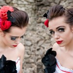 Only Lovers Left Alive {A Gothic Wedding shoot at Lesnes Abbey}