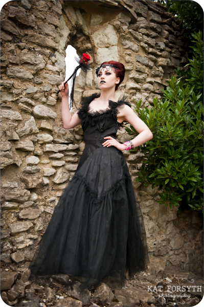 Alternative wedding gothic victorian vintage wedding (13)