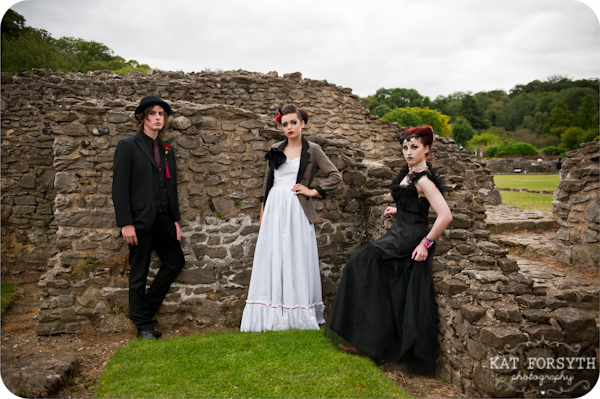 Alternative wedding gothic victorian vintage wedding (21)