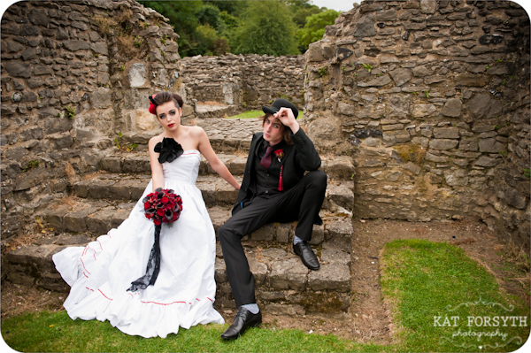 Alternative wedding gothic victorian vintage wedding (22)