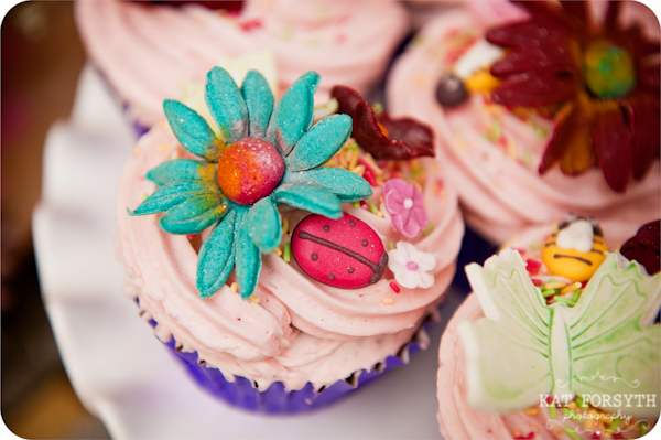 Delicieux Cakes cupcake ladybird daisy