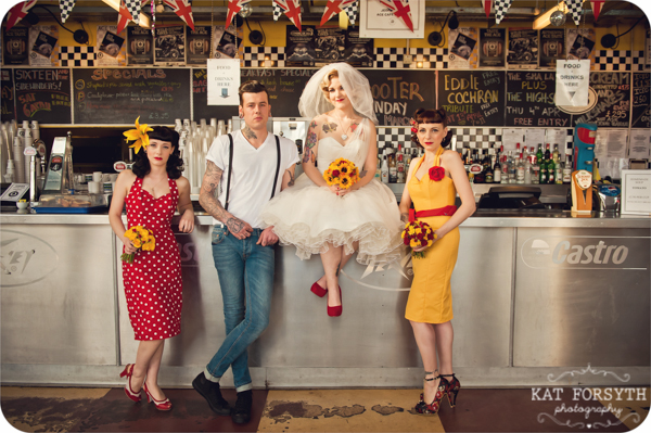 Rockabilly Wedding photos