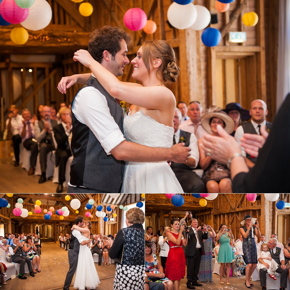 Tewin Bury Farm Wedding ceremony