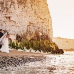 A Seaside Trash the Dress/ Day After Beach Wedding Session {Leah & Aidan}
