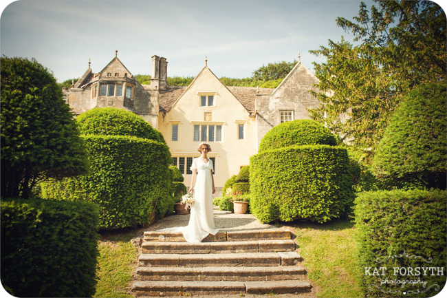 Owlpen Manor Country Garden English Wedding (20)