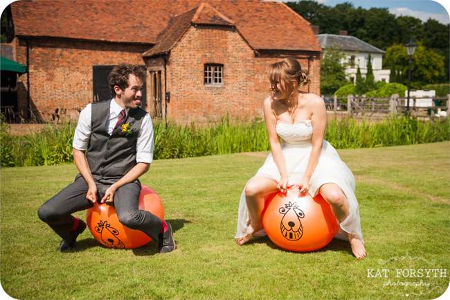 Space Hopper  wedding