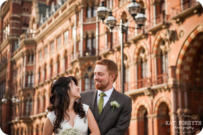 St Pancras wedding photography