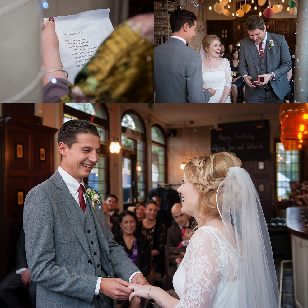 Camden Pub Wedding