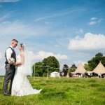 Festival Wedding at North End Barns {Hannah & Scott}