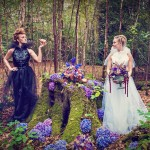 Good & Evil in a Fairyland Wedding {Styled Shoot}