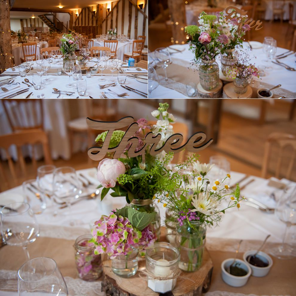 Rustic chic vintage wedding Moreves Barn